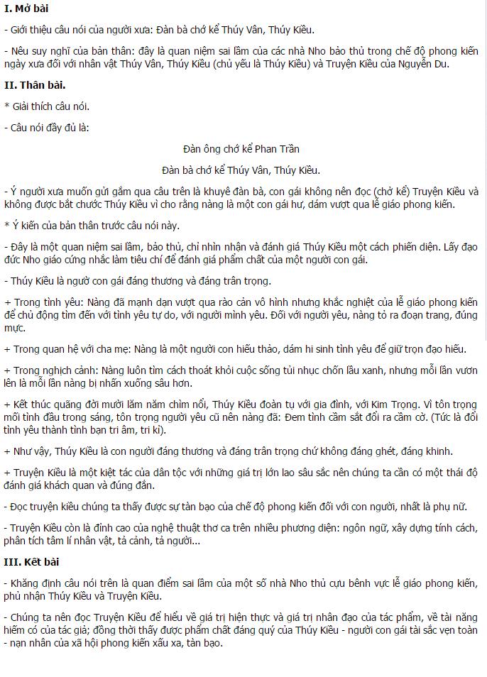 viet bai lam van so 5 - Soạn văn bài: Viết bài làm văn số 5: Nghị luận văn học