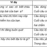 Soạn văn bài Luyện từ và câu: Ôn tập về câu