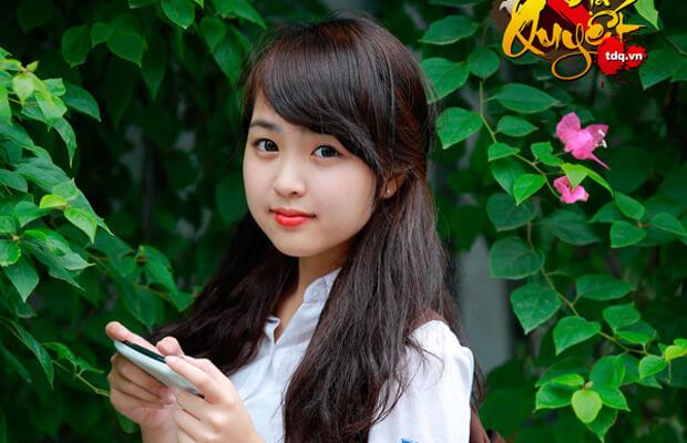 top 10 anh hot girl hoc sinh cap 2 viet 6 - Soạn văn bài Tập đọc: Vương quốc vắng nụ cười